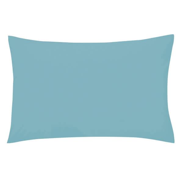 Helena Springfield Copenhagen Plain Dye Pillowcase Standard - Ocean