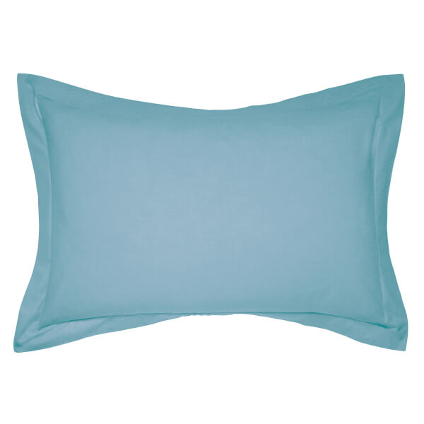 Helena Springfield Copenhagen Plain Dye Pillowcase Oxford - Ocean