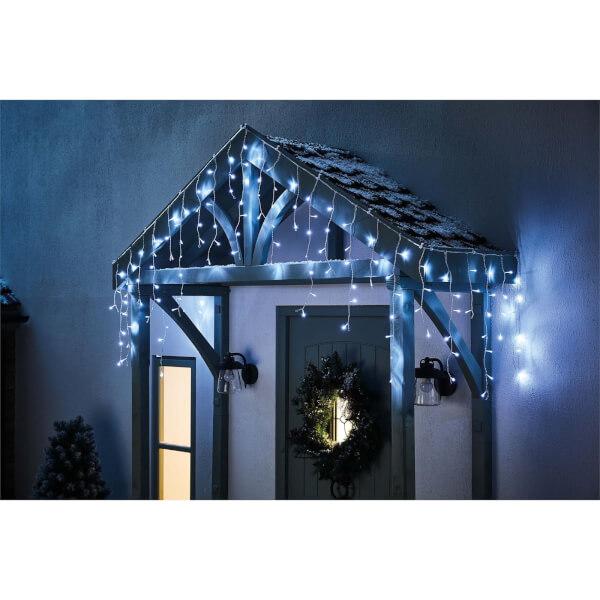480 Icicle LED Lights - Bright White