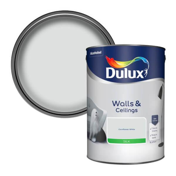 Dulux Natural Hints - Cornflower White Silk - 5L
