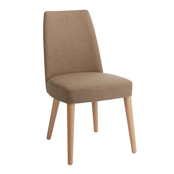 Riga Ilva Upholstered Dining Chairs - Set of 2 - Titanium
