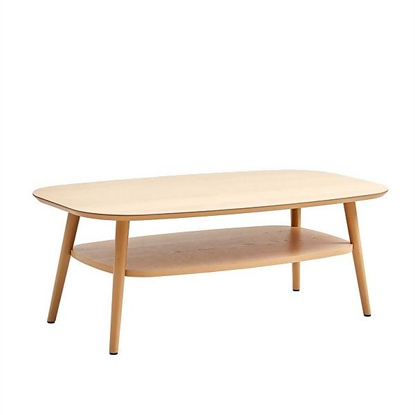 Riga Coffee Table with Shelf