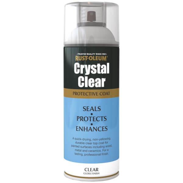 Rust-Oleum Gloss Spray Paint - Crystal Clear - 400ml
