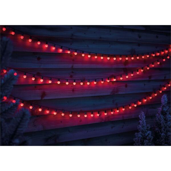 180 Berry String Lights - Red