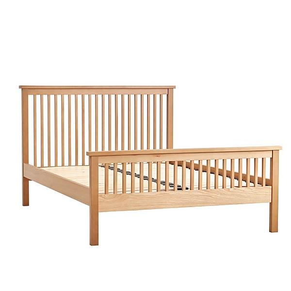 Atlanta Double Bed Frame - Oak
