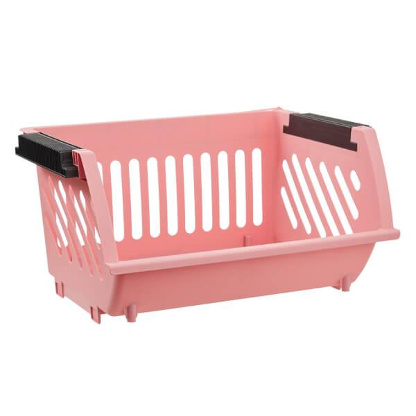 Multi Functional Stacking Basket - Blush