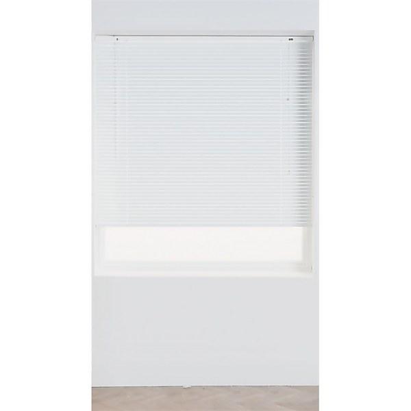 White Aluminium 25mm Venetian Blind - 90cm