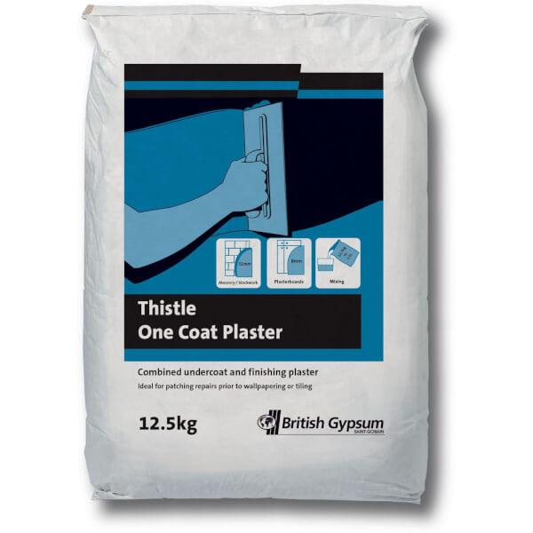 Thistle One Coat Plaster - 12.5kg