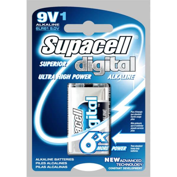 Supacell Digital 9V 1 Unit