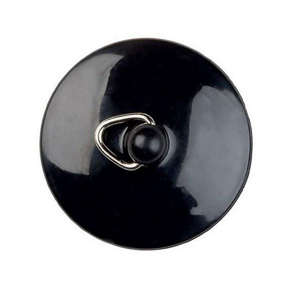 Sink or Bath Plug - Black