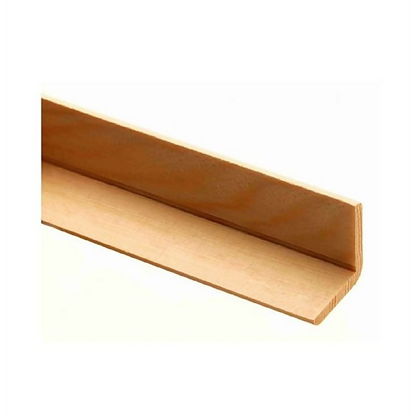 Richard Burbidge Angle Moulding - Pine - 2400 x 27 x 27mm