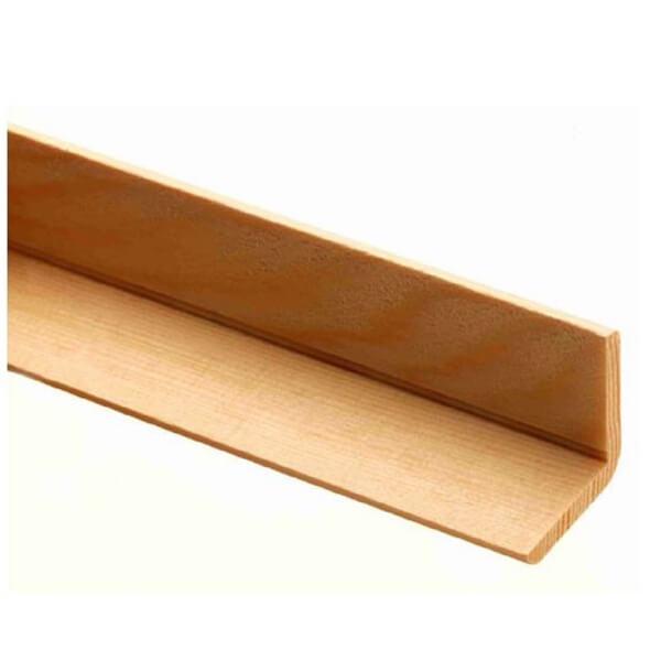 Richard Burbidge Angle Moulding - Pine - 2400 x 34 x 34mm