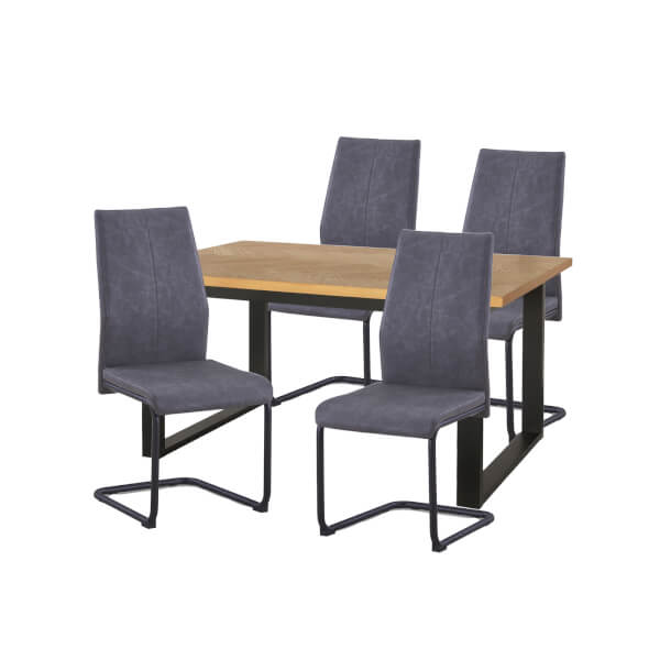Skelby 4 Seater Dining Set