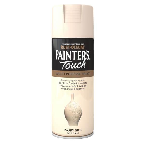Rust-Oleum Ivory - Silk Spray Paint - 400ml