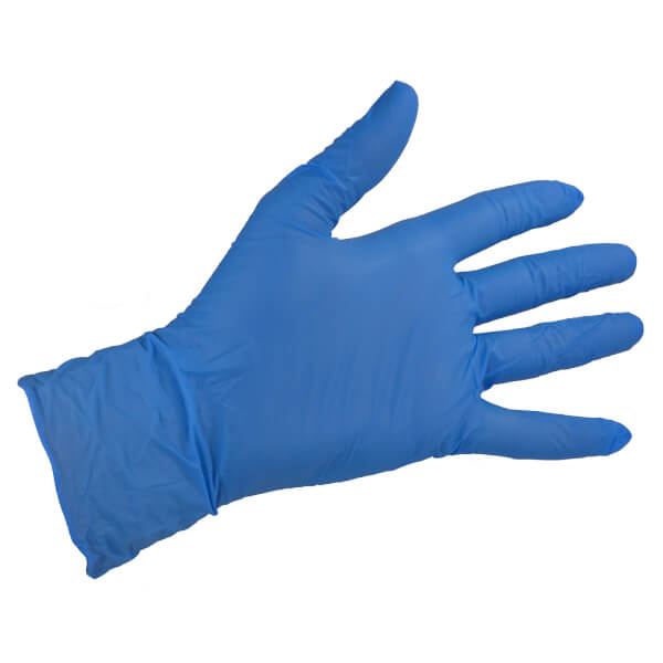 Blue Vinyl Gloves - Extra Large - 10 Pack