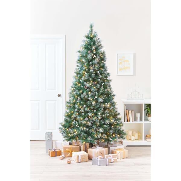 7ft Versailles Premium Pre Lit Christmas Tree