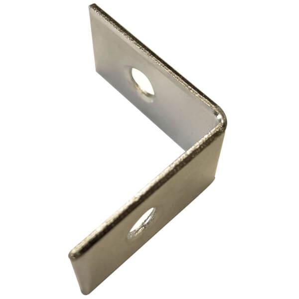 Corner Brace Bright Zinc Plated - 25mm - Pack Of 10