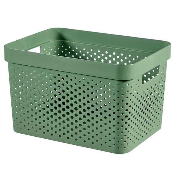 Infinity Large Box - 17L - Shale Green
