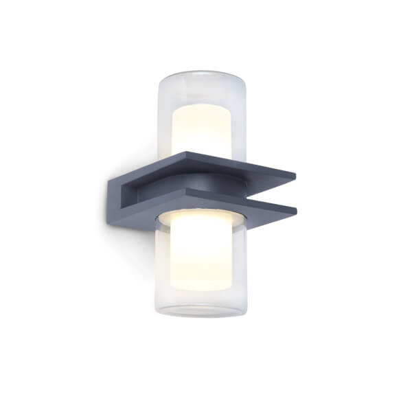 Lutec Tango LED Up And Down Outdoor Wall Light