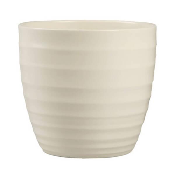 Plant Pot - Cream - 14cm