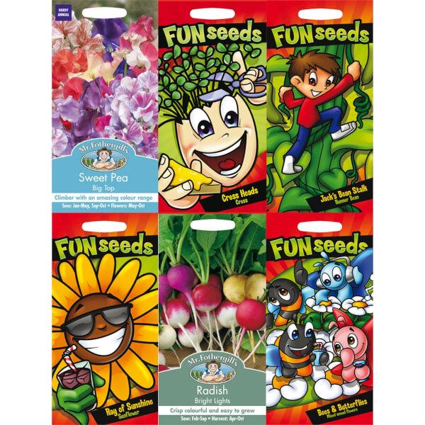 Mr. Fothergill's Kids Gardening Seeds Bundle