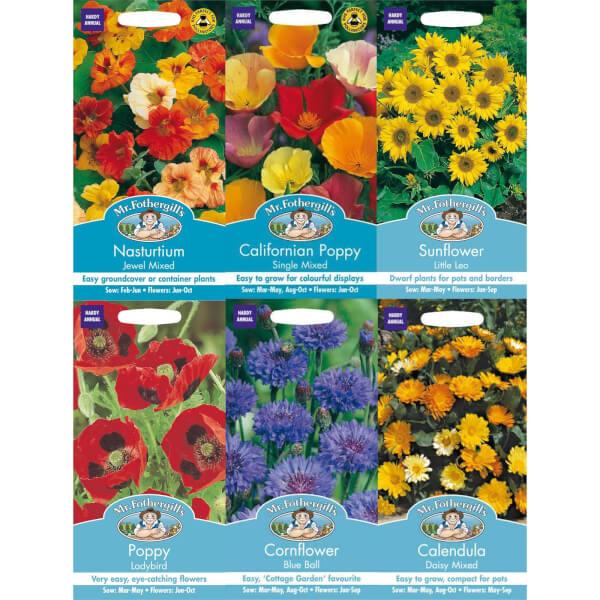 Mr. Fothergill's Easy Grow Flower Seeds Bundle