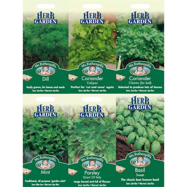 Mr. Fothergill's Herb Seeds Bundle