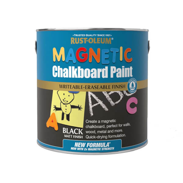 Rust-Oleum WB Magnetic Chalkboard Paint 2.5L