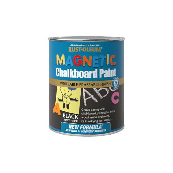 Rust-Oleum WB Magnetic Chalkboard Paint 750ml
