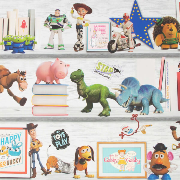 Disney Toy Story 4 - Play Date Wallpaper