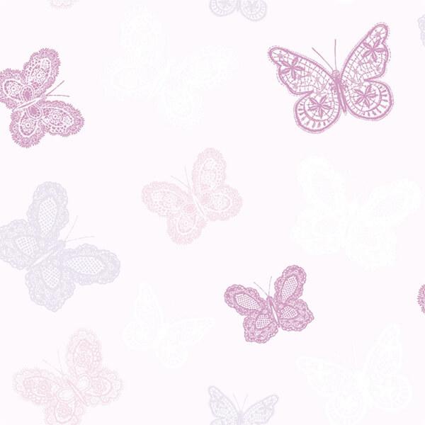 Superfresco Easy Butterfly Pink Wallpaper