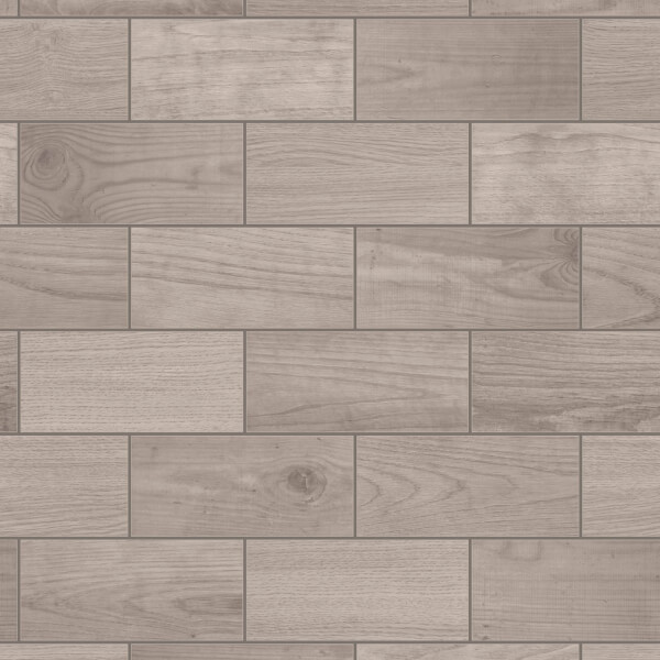 Wooden Tile Brown Wallpaper