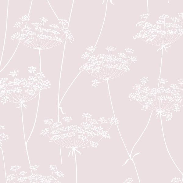 Superfresco Easy Floral Embossed Pink Wallpaper