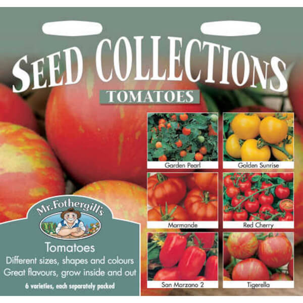 Mr. Fothergill's Tomatoes Collection (Lycopersicon Lycopersicum) Seeds