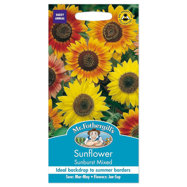 Mr. Fothergill's Sunflower Sunburst Mixed Seeds