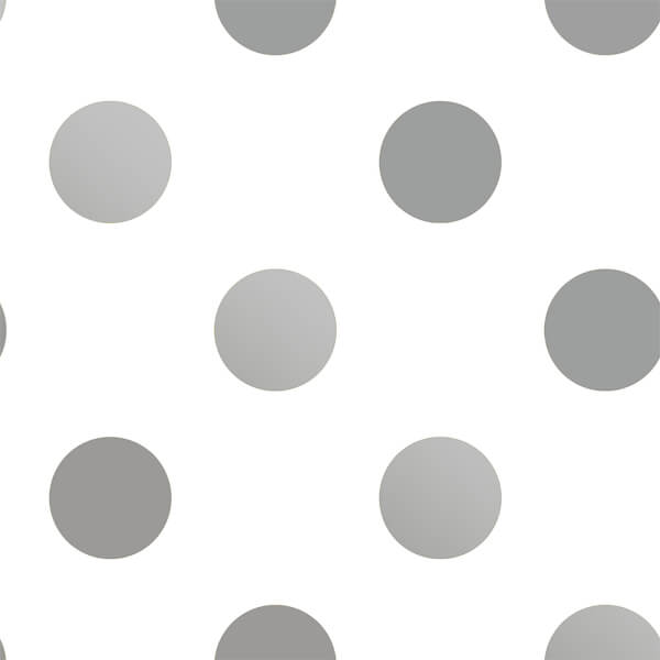 Superfresco Easy Silver Dotty Wallpaper