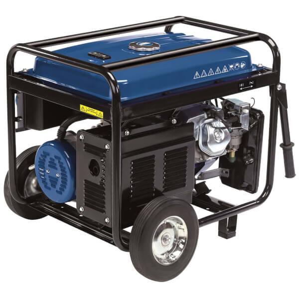 Draper 2.5 KVA Petrol Generator with Wheels