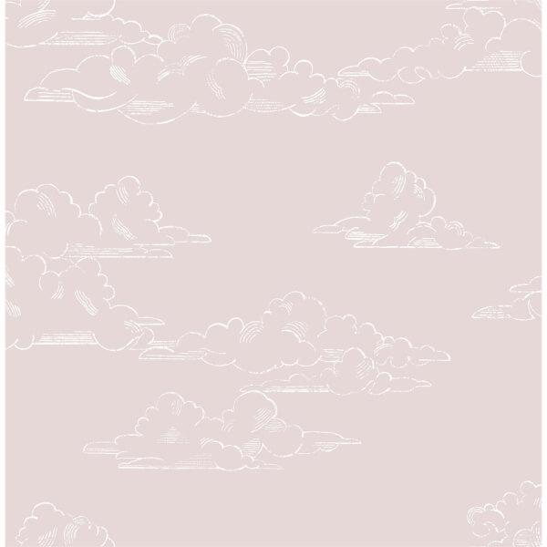 Superfresco Easy Vintage Cloud Pink Wallpaper
