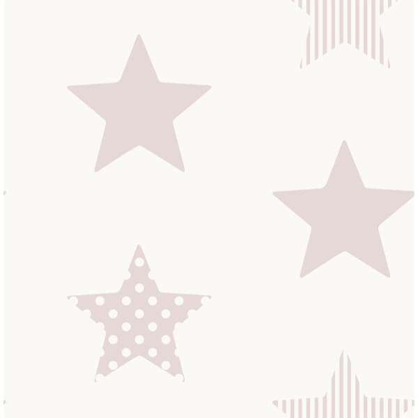 Superfresco Easy Superstar Pink Wallpaper