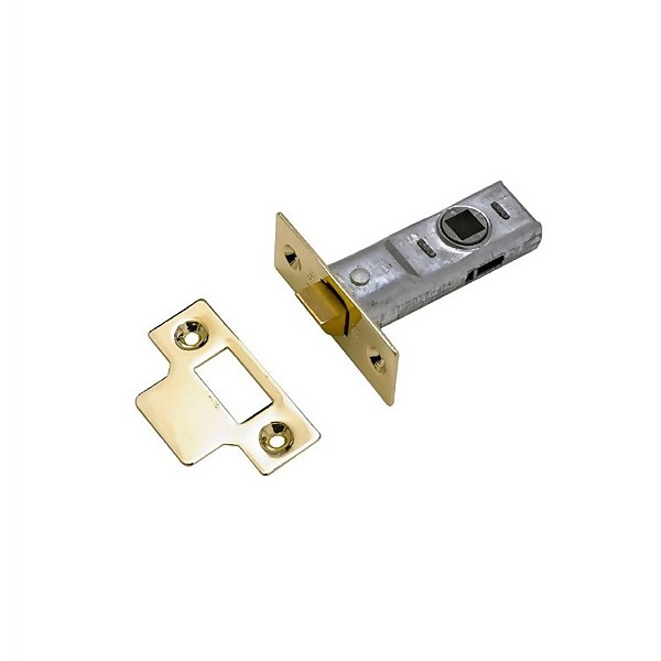 Yale Tubular Latch 76mm / 3 inches - Brass