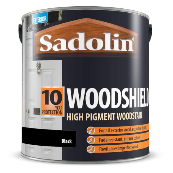 Sadolin Woodshield - Black - 2.5L
