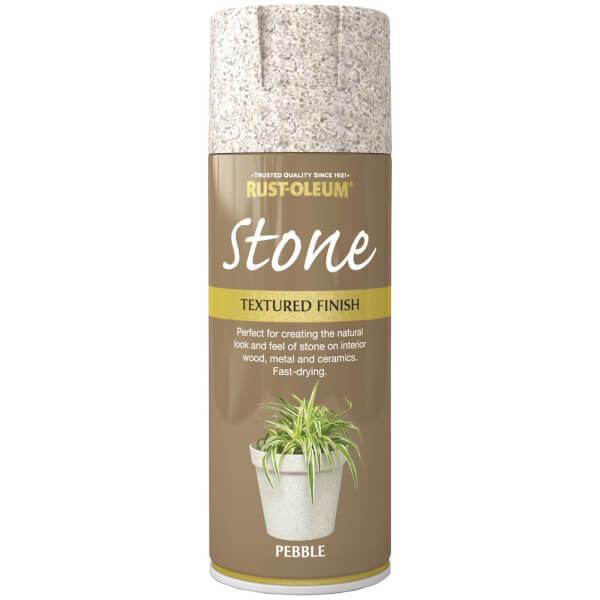 Rust-Oleum Stone Spray Paint - Pebble - 400ml