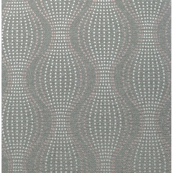 Arthouse Calico Dot Gunmetal Wallpaper
