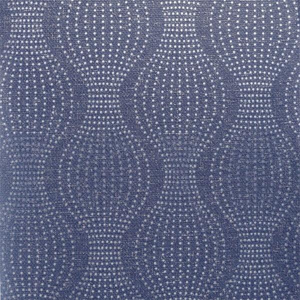 Arthouse Calico Dot Navy Wallpaper