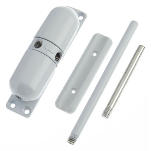 Yale Surface Mounted Door Closer - White