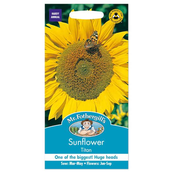 Mr. Fothergill's Sunflower Titan Seeds