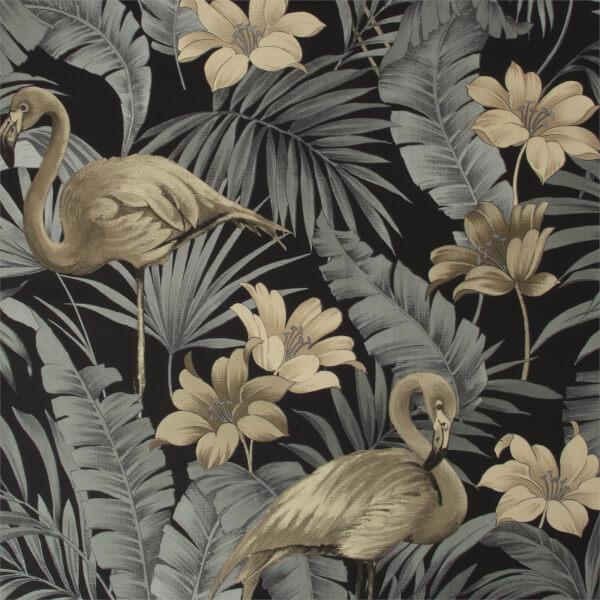 Superfresco Easy Sandrine Tropics Dark Wallpaper