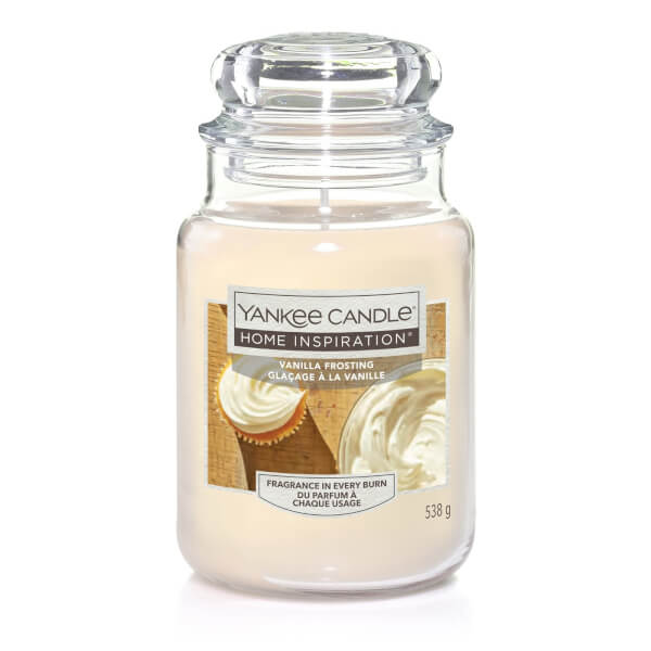 Yankee Candle Home Inspiration Scented Candle - Large Jar - Vanilla Frosting