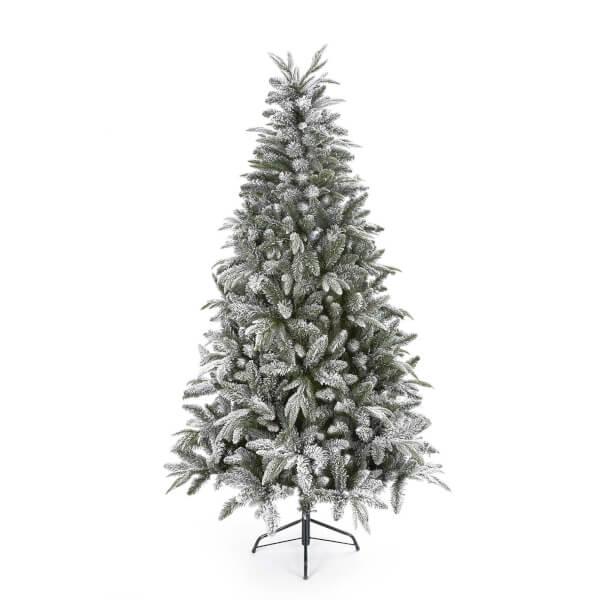 10ft Flocked Lapland Christmas Tree