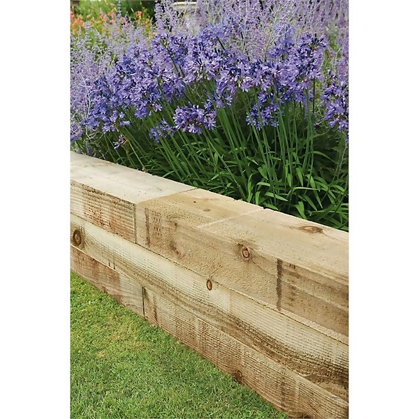 Forest Non Creosote Railway Sleeper - 4ft